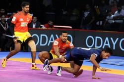 Pro Kabaddi 2018 Gujarat Fortunegiants Vs Haryana Steelers