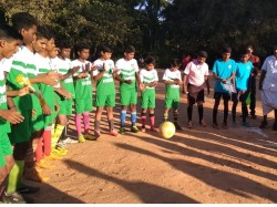 Isl Model Football League In Kalluvayal Jayasree Hss