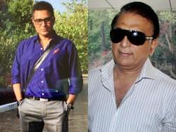 Sunil Gavaskar Sanjay Manjrekar Escape Unhurt