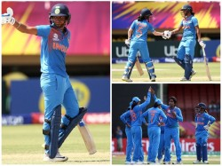 Indian Beats Newzealand In Women S World T