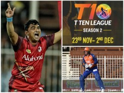 Kerala Knights Beaten In Their Second Match In T10 Cricket League