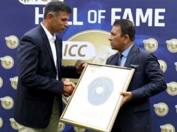 Rahul Dravid Officially Inducted Into Icc Hall Of Fame