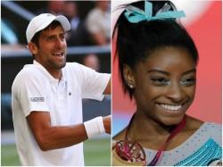 Year End 2018 Simone Biles Novak Djokovic