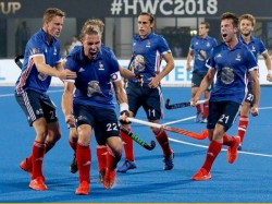 Hockey World Cup England New Zealand