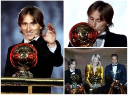 Croatian Star Luka Modric Wins Ballon Dor Award
