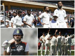 Previous Second Tests History Of India In Australia