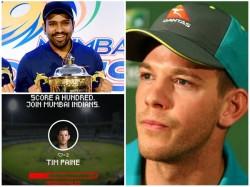 Mumbai Indians Troll Australian Captain Tim Paine