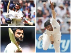 Report Card Of India In Melbourne Cricket Test