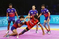 Pro Kabaddi 2018 Dabang Delhi Bengaluru Bulls