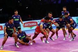 Pro Kabaddi 2018 Up Yoddha Edge Out Haryana Steelers