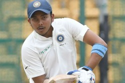 India Vs Australia Prithvi Shaw Back To Training