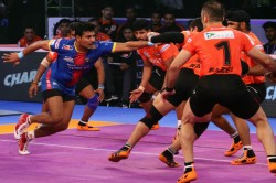 Pro Kabaddi League Up Yoddha Mumba