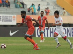 Chennai City Beats Gokulam Kerala In I League Football Match