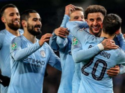 Manchester City Thrashes Burton In English League Cup First Leg Semi Final