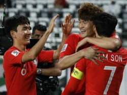South Korea Beats China And Kyrgistan Thrashes Philippines In Asian Cup
