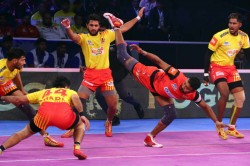 Pro Kabaddi Up Yoddha Beat Dabang Delhi
