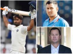 Australian Legend Ricky Ponting Praises Indian Wicket Keeper Rishabh Pant
