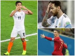 Sunil Chhetri Overtakes Lionel Messi In Goal Record