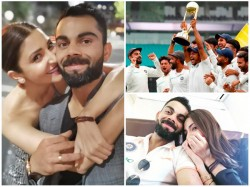 Anushka Sharma S Special Message Virat Kohli And Team India
