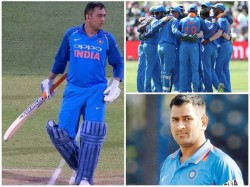 Ms Dhoni S Illegal Run Second Odi Match Against Australia