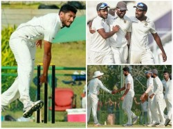 Kerala Vidarbha Ranji Trophy Semi Final Match Day Two