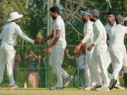Kerala Gujarat Ranji Trophy Quarter Final Match Day Two