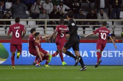 Qatar Beat Iraq 1 0 At Al Nahyan Stadium To Qualify For The Quarter Finals Of The Asian Cup