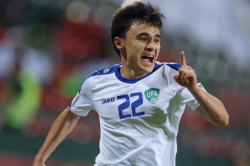 Asian Cup Group F Leaders Uzbekistan Cruise Into Last