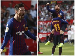 Messi Hat Trick Saves La Liga Leaders