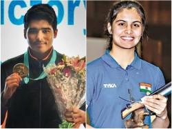 Manu Bhaker Saurabh Chaudhary Win Gold