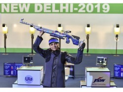 Apurvi Chandela Wins Gold At World Cup
