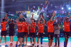 Pro Volleyball League U Mumba Volley Beat Chennai