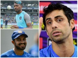 Both Pandya And Shankar Can Be Picked For World Cup Says Nehra
