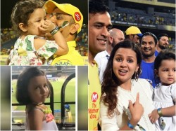 Ms Dhonis Daughter Ziva Dhoni In Ipl
