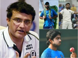 Sourav Ganguly Has Named His Squad For The 2019 Icc World Cup In England