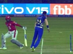 Mumba Indians Spinner Krunal Pandya Refuses To Mankad Mayank In Ipl Match