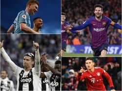 Football Wins For City Barcelona Juventus Bayern
