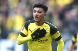 England Forward Sancho Sends Dortmund To Top Of Bundesliga