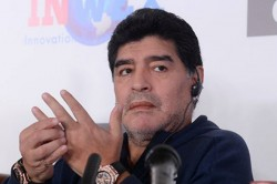 Maradona Fined For Dedicating Victory