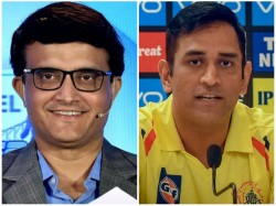 Ms Dhoni Is Human Competitiveness Is Remarkable Says Ganguly