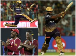 Chris Gayle S Advices Helped Me Says Kkr Star Andre Russel