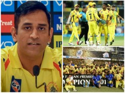 None Will Me If I Tell Csk S Success Mantra Says Dhoni