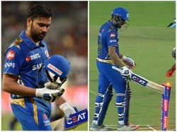 Mumbai Captain Rohit Sharma Fined For Breach Of Conduct
