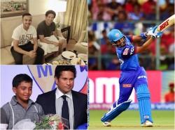 Prithvi Shaw Thrilled With Sachin Tendulkar