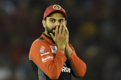Kohli Fined For Slow Over Rate In Mohali