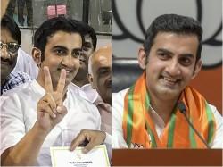 Gautam Gambhir Wins Political Turf
