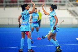 Women S Hockey India Beat Republic Of Korea