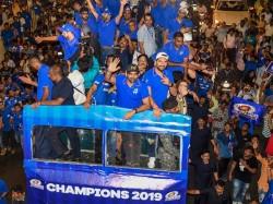 Mumbai Indians Celebrates Ipl Victory