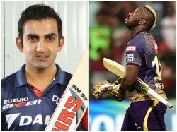 Gautam Gambhir Criticizes Kkr Player Andre Russel