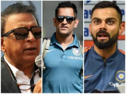 Gavaskar Explains Dhoni Has To Play A Massive Role For India In World Cup